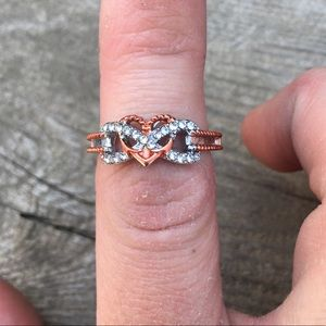 Jewelry - 💥FLASH SALE💥 infinity anchor heart rope ring